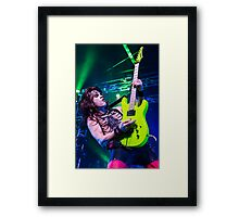 Satchel from Steel Panther @ Hordern Pavilion, Sydney - Dec 7, 2013 Framed Print