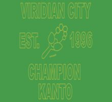 Viridian City Champion: Pokemon Kanto by MikeCotopolis