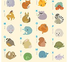 Animal Alphabet A-Z by LilyM