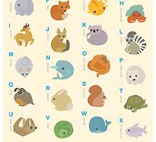 Animal Alphabet A-Z by LilyM