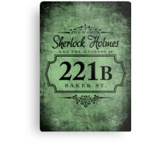 The name's Sherlock Holmes Metal Print