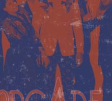 Arcade Fire Distressed Sticker