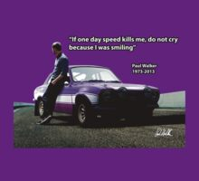 In Memory of Paul Walker - Purple by carsaddiction
