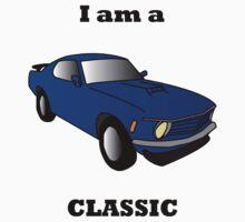 I am a CLASSIC (Mustang) by tjrowan