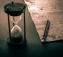 Letter to time by DavidCucalon