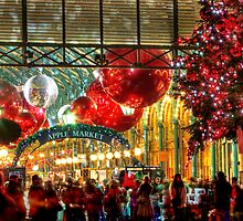 Christmas At Covent Garden - HDR by Colin J Williams Photography