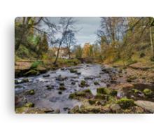 West Burton Bridge Canvas Print