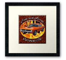 Plymouth Barracuda Fast and Fierce Framed Print