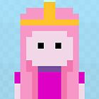 Adventure Time 8-bit Sprite Princess Bubblegum by d13design