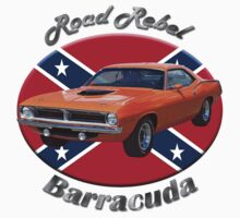 Plymouth Barracuda Road Rebel by hotcarshirts