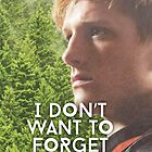 """I don't want to forget"" Peeta Mellark by EF Fandom Design"