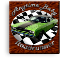 Plymouth Roadrunner Anytime Baby Canvas Print
