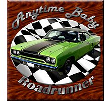 Plymouth Roadrunner Anytime Baby Photographic Print