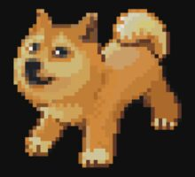 Doge Pokemon Pixel Dogemon by cocolima