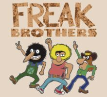 Fabulous Furry Freak Brothers by Parim