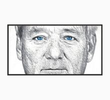 Bill Murray - Blue Eyes by RedbubbleME