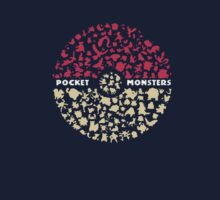 Pocket Monsters PokeBall by mvettese