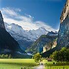 Lauterbrunen Valley, Switzerland by David Galson