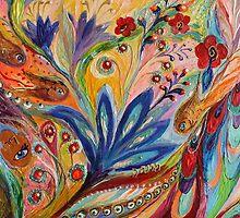 Original painting fragment 94 by Elena Kotliarker