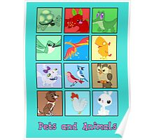 MLP: Pets and Animals Poster