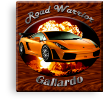 Lamborghini Gallardo Road Warrior Canvas Print