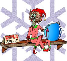 Elf on a Shelf Zombie by Skree