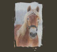 Winter Horse  - JUSTART © T-Shirt