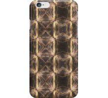 Golden Checkerboard iPhone Case/Skin