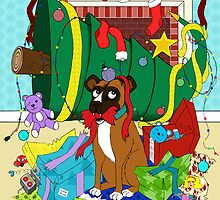 My Dog Ate Christmas by MSRowe Art and Design
