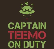 Teemo - On Duty by Fragontosaurus