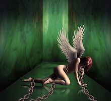 Angel in chains by fitim bushati