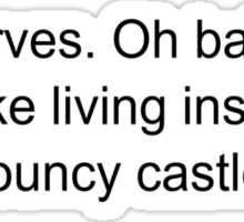 Bouncy Castle Sticker