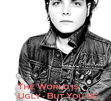 Gerard Way - The World is Ugly by BatSquirrel