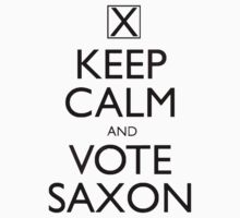 Keep Calm and Vote Saxon by BSRs
