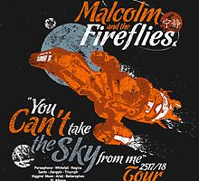 Malcolm and the Fireflies! by girardin27
