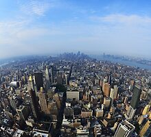 New York City Manhattan by mykhalchevskyy