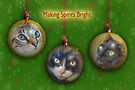 Making Spirits Bright – Christmas Cats by Owed to Nature