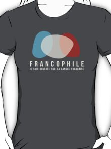 Francophile (féminin) T-Shirt
