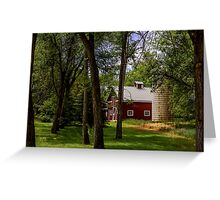 Farm House Greeting Card