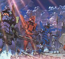 Neon Genesis Evangelion - Eva Series by LanFan