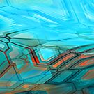 graffiti abstract 6 by DARREL NEAVES