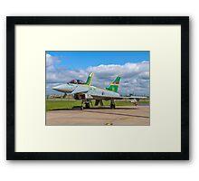 Eurofighter Typhoon F.2 ZJ936/QO-C Framed Print