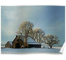 Another Day On The Farm ~ Snow ~ Poster