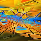 graffiti abstract 10 by DARREL NEAVES