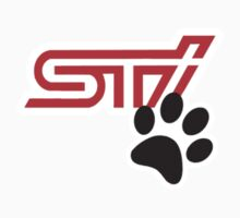STI with Paw print by carsaddiction