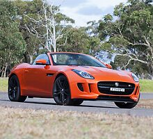 Jaguar F-Type by Jan Glovac Photography
