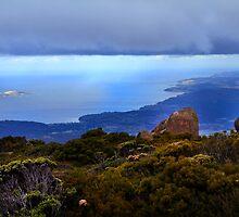 Mt. Wellington Tasmania by Angelika  Vogel