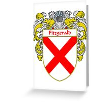 Fitzgerald Coat of Arms/Family Crest Greeting Card
