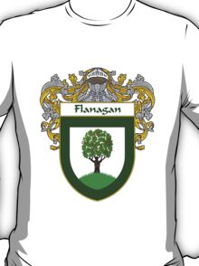 Flanagan Coat of Arms/Family Crest T-Shirt
