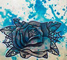 blue rose by LastChance